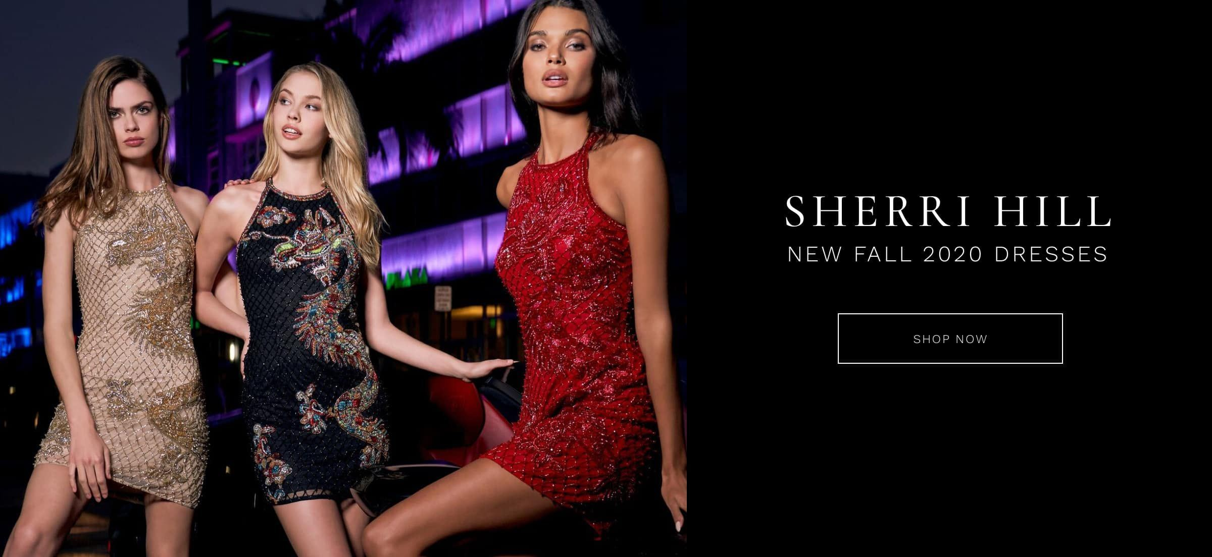 Sherri Hill Prom Dresses for Fall Desktop