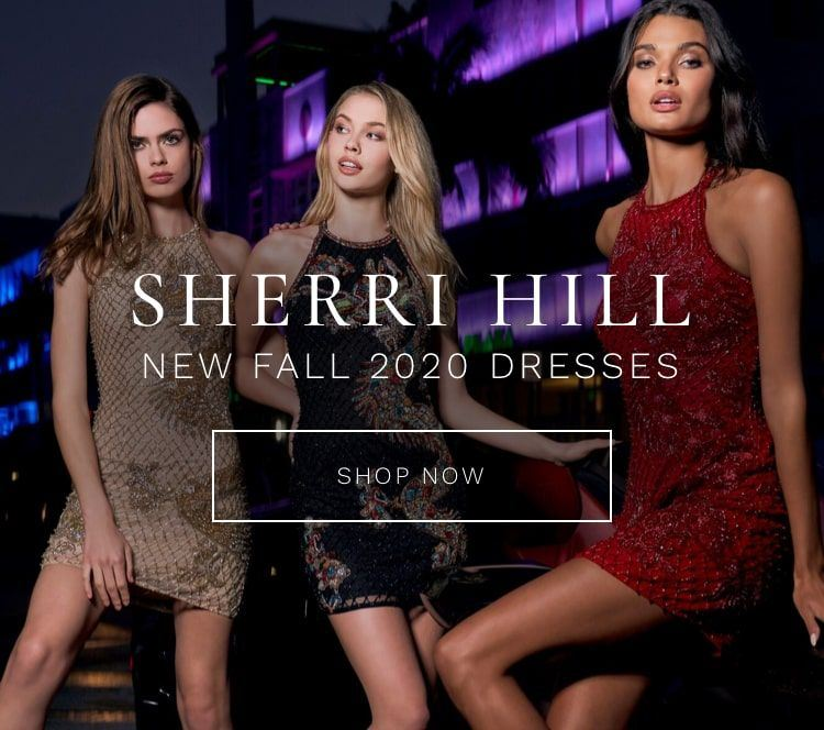 Sherri Hill Prom Dresses for Fall Mobile